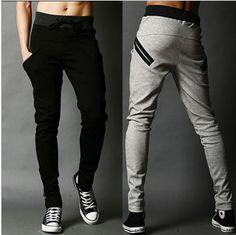 Free shipping New Arrival sports pants for men korean cool harem pants trousers long,casual slacks,pocket design sweatpants