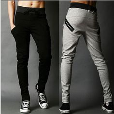 Free shipping New Arrival sports pants for men korean cool harem pants trousers long,casual slacks,pocket design sweatpants