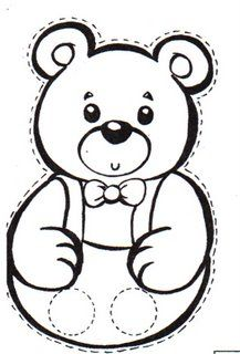 marionnette petit ours