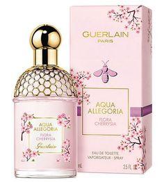 Aqua Allegoria Flora Cherrysia 2020 perfume for Women by Guerlain Perfume Diesel, Perfume Ad, Rose Perfume, Cosmetics & Perfume, Perfume Bottles, Perfume Tom Ford, Vanilla Perfume, Aqua, Makeup Products