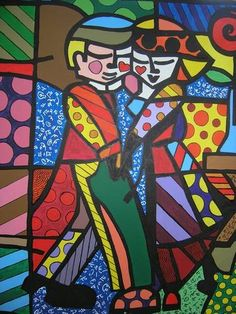 Find the latest shows, biography, and artworks for sale by Romero Britto. Celebrated for the vibrancy and optimism of his paintings, Romero Britto works in a… Pintura Graffiti, Graffiti Painting, Graffiti Art, Arte Pop, Pop Art, Tableau Design, Arte Country, Graphic, Glass Art