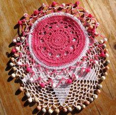 Two Crochet Jug Covers/Beaded Beaded Crochet, Crochet Doilies, Knit Crochet, Milk Jug, Tablecloths, Crochet Accessories, Hooks, Crocheting, Beads