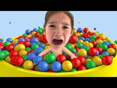 Learn colors with Baby and balls, Songs Finger Family and Nursery Rhymes for Kids - YouTube
