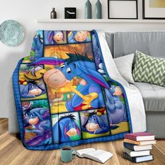 EE Premium Blanket Winne The Pooh, Winnie The Pooh Friends, Eeyore Pictures, Disney Bedding, Disney Products, Kick Backs, Chihuahuas, Donkeys, Personalized Products
