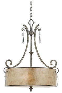 Vanessa 4 light Pendant, 4-LIGHT, MOTTLED SILVER Home Decorators Collection http://www.amazon.com/dp/B005COLG0W/ref=cm_sw_r_pi_dp_s1Tnvb0WKRXSA