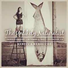 Invitation to Rebecca Rebouche solo show