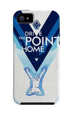 Vancouver Whitecaps iPhone case created by artist Craig Yamashita of Japan, Tokyo.  Available on www.futbolartistnetwork.com #soccer #mls #futbol #football