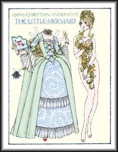 A pequena sereia // The little Mermaid // La sirenita