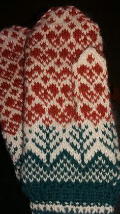 Hjertevotter Easy Knitting, Knitting Socks, Knitted Hats, Knit Socks, Mittens, Diy And Crafts, Blanket, Scarfs, Crochet