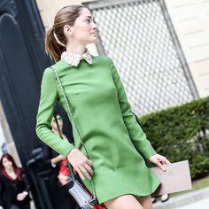 comfy, sofia sánchez barrenechea, elegance, chic, preppy style, green style,