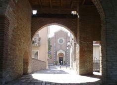 Chiesa di San Lorenzo: vista dal Castello Malatestiano