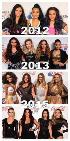 Little Mix 2012 - 2015 Jingle Bell Ball