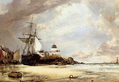 peinture de Edward William Cooke