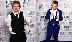 AFTER taking home no less than four Grammy Awards, including song of the year, earlier this month, Sam Smith continued to add to his trophy cabinet at the BRITs 2015 tonight. Customize My Car, Brit Awards 2015, Song Of The Year, Sam Smith, Ed Sheeran, Good Music, Celebrity News, Entertainment, Songs