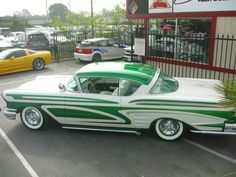 1958 Chevy Impala Maintenance of old vehicles: the material for new cogs/casters/gears could be cast polyamide which I (Cast polyamide) can produce 1958 Chevy Impala, Chevrolet Impala, Custom Paint Jobs, Custom Cars, Sweet Cars, Kustom, Friends In Love, Concept Cars, Cars Motorcycles