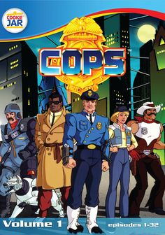 """C.O.P.S. Ms. Demeanor was my fave even though she was a """"Crook"""" lol. How about Longarm, Mirage, Mainframe, Nightshade, or Buttons McBoom Boom! #80's cartoon #COPS Cartoon"""