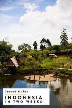 2 week indonesia itinerary covering bandung, yogyakarta (jogja), lombok, gili trawangan and raja ampat