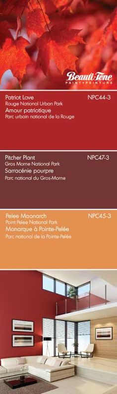 Capture the breathtaking scenery of our land with Beauti-Tone's gorgeous hues from the NEW National Parks of Canada Colour Collection. Parc National, National Parks, Gros Morne, Month Colors, Paint Colours, Home Hardware, Craft Party, Color Trends, House Colors
