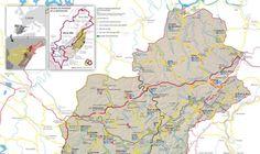 Nou mapa turístic per promocionar 'Tres territoris, una mateixa terra'