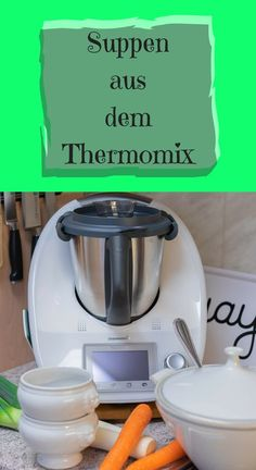 8 soups and stew recipes from Thermomix® - Delicious quick soups from the Thermomix, potato soup, bean soup, pearl barley soup, leek cream sou - Healthy Soup Recipes, Easy Chicken Recipes, Smoothie Recipes, Paleo Food, Fat Burning Soup, Barley Soup, Crock Pot Soup, Bean Soup, Potato Soup