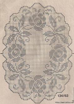 szydełko / filet / serweta // crochet motifs