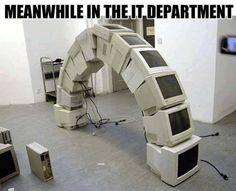 Decorating old desktops