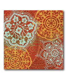 Loving this Boho Moroccan III Wrapped Canvas on Canvas Home, Canvas Wall Art, Canvas Prints, Art Prints, Framed Prints, Fall Canvas Painting, Contemporary Wall Decor, Modern Art, Detail Art