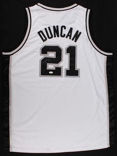 653cb288aed Tim Duncan Signed Spurs Jersey (JSA LOA) Auction