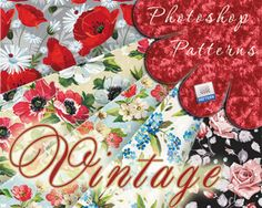 Vintage Flowers modelli per Photoshop