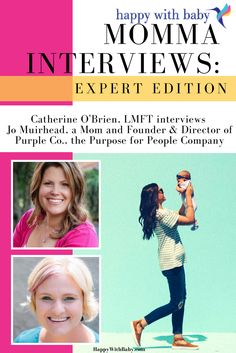 """Momma Interviews """"Expert Edition"""" featuring Jo Muirhead — Catherine O'Brien 
