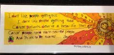 JennyLU's Cancer 5x12 Giclee Print, Sun, inspirational art