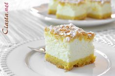 New Recipes, Cheesecake, Food, Cheesecakes, Essen, Meals, Yemek, Cherry Cheesecake Shooters, Eten