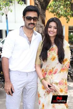 Prasanna   & Sneha at Chennaieil Oru Naal Audio Launch