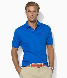ralph lauren custom fit short sleeve shirt