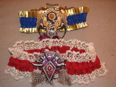 World of Warcraft garters on Etsy. I don't know if I can even handle this!
