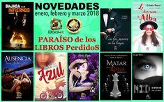 Novedades Enero, Febrero y Marzo – LxL Editorial – PARAÍSO de los LIBROS PerdidoS