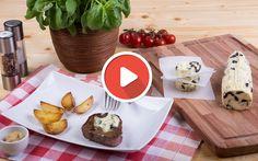Würzige Oliven-Knoblauch-Butter #olive #garlic #butter #recipe #barbecue #steak