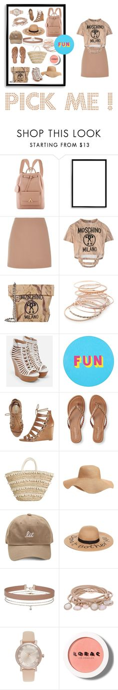"""""""PICK ME !"""" by renasia ❤ liked on Polyvore featuring Bomedo, River Island, Moschino, Red Camel, JustFab, Lisa Perry, Avon, Aéropostale, Old Navy and Collection XIIX"""
