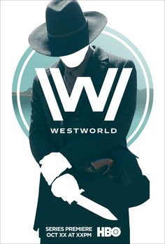 Westworld poster art exploration for Arsonal