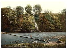 [Abbey stepping stones, II, Bolton Abbey, England] | Library of Congress