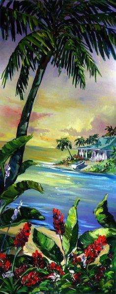 Tropical Paradise by Steve Barotn
