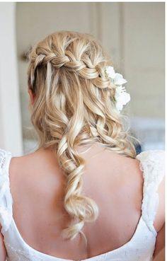 ##bridesmaid hair style?  Yellow Dress #2dayslook #fashion #nice #YellowDress  www.2dayslook.com  yellow dresses #2dayslook #new #yellow dresses #nice  www.2dayslook.com