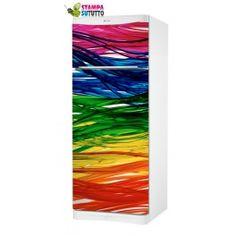 Adesivi frigorifero stickers frigo rivestimento frigorifero girasoli stampa online adesivi - Stickers mobili ...