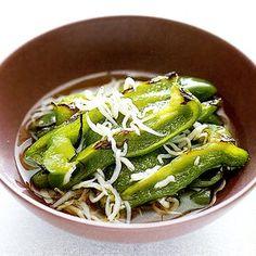 ピーマンとしらすの焼きびたし | 舘野鏡子さんのおつまみの料理レシピ | プロの簡単料理レシピはレタスクラブネット
