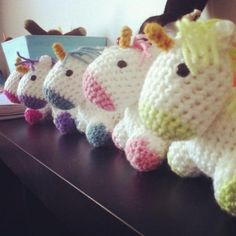 Baby Unicorns!-- please tell me someone crotchets in DPhiE!