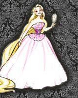 Disney High Fashion - Rapunzel! Love this one too! :D