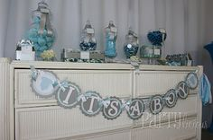 Little Man Baby Shower from Partylicious