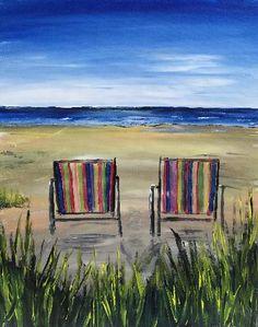 Paint Nite - Beach Chairs