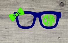 Eyeglasses with Round monogram vinyl decal - spectacles with monogram and bow - Great for cell phone, auto, laptops, yeti's and MORE by SCSassyBelle on Etsy Yeti Decals, Nail Decals, Vinyl Decals, Star Nail Art, Grad Gifts, Teacher Gifts, Cross Stitch Cards, Monogram Decal, Cornhole Set