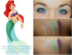 The Little Mermaid, Ariel, Inspired Makeup